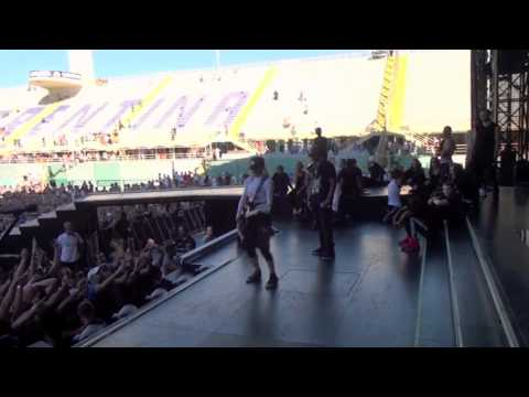 Madonna Moment in Florence during Soundcheck