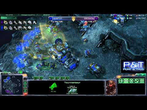 (HD340) Goody vs LiquidTLO - TvT - Starcraft 2 Replay [FR]