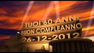 Intro Buon Compleanno 60 Anni Youtube