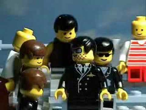 Grease - Summer Nights Lego Stop Motion Animation