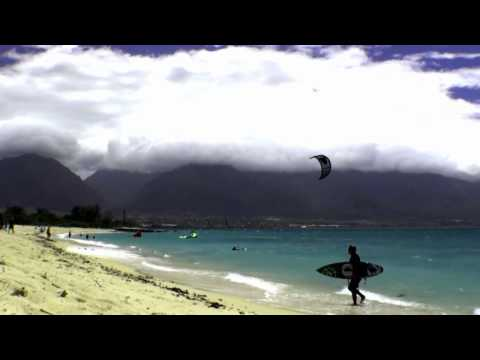 Kite Surfing Kanaha Beach, Maui