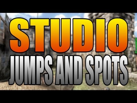 BO2 Jumps and Spots - Studio (Black Ops 2 Firing Range Remake) + Oblivion Trailer!
