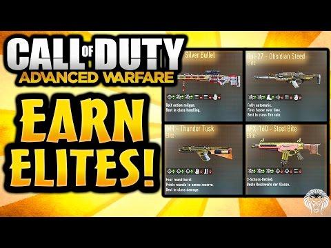 COD Advanced Warfare: NEWS! Earn Elite Weapons Soon - Direct Elite Gun Challenges (Call of Duty AW) - unknownplayer03