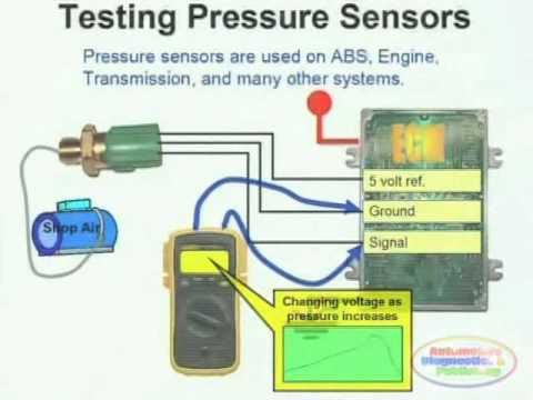 Pressure Sensor &amp; Wiring Diagram