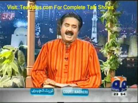 Khabar nak - 4th May 2012 Geo News Talk Show