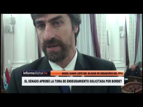<b>Endeudamiento de Entre Ríos.</b> El Senado aprobó el pedido de Bordet