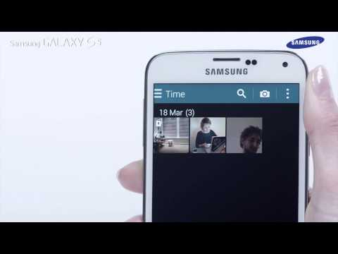 How to use the Private Mode of the Samsung GALAXY S5