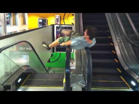 Escalator Spin Olympics