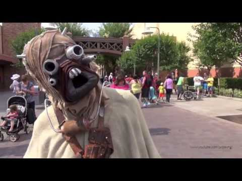 Sand People (Tusken Raider) Meet-and-Greet Disney's Hollywood Studios Walt Disney World