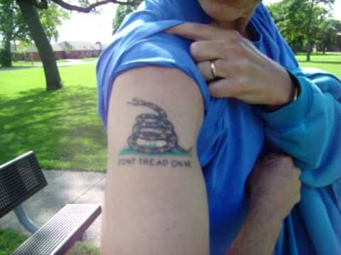 Don't Tread on Me Tattoo ep838 2490 views 2 years ago My friend Bob shows