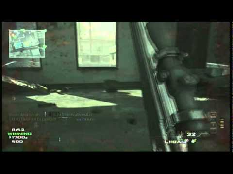 MW3 - How to Get an AC-130 on Bakaara - Multiplayer Gameplay/Commentary
