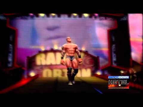 WWE All Stars: Randy Orton Entrance & Finisher