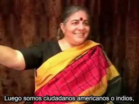 Vandana Shiva - Pocas compañías se están apoderando de la agricultura