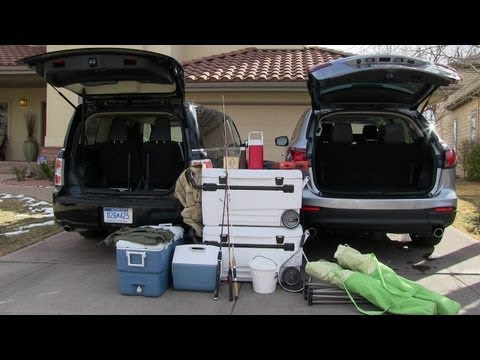 2013 Ford Flex vs Mazda CX-9: What is the Best Camping Car Mashup Review?