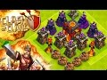 """CLASH OF CLANS -MAX LVL TROLL BASE! (WILL IT DEFEND?!)""""FUNNY MOMENTS+MAX VS MIN TROOPS""""(TH10 NOOB)"""