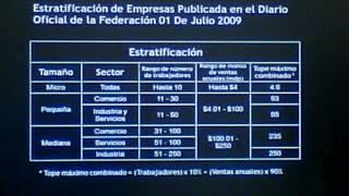 (3 de 18) Clasificación de empresas y sectores de las MIPYMEs