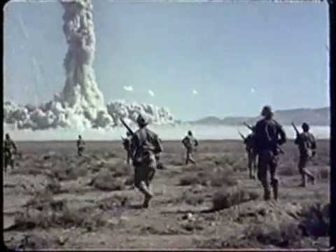 Atom Bomb Test in USA 1955