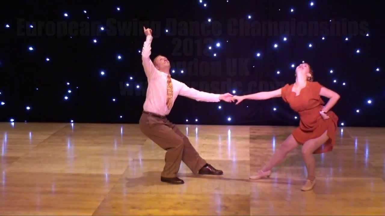 ESDC 2013 - Open Classic Showcase - Tony Jackson & Irene Ragusini