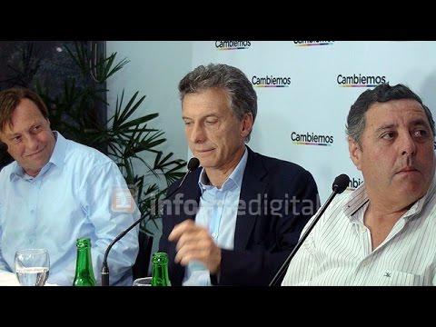 <b>Conferencia.</b> Macri sobre las irregularidades en la pauta de su gobierno