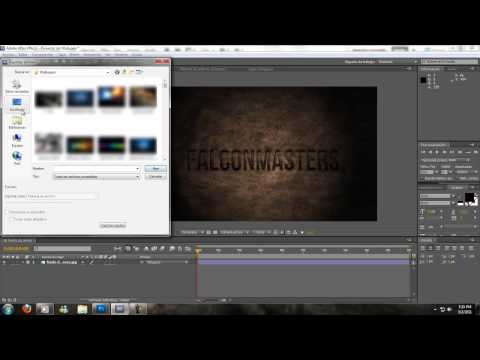 After Effects y Photoshop // Banner de títulos con scroll de noticias