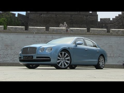 2014 Bentley Flying Spur Review: Driving the most powerful Bentley sedan ever
