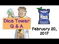 Live Q & A with Tom Vasel - February 20, 2017