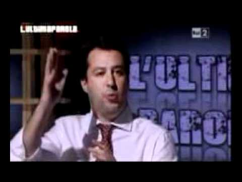 Oliviero Diliberto(PdCI - FdS) a l-Ultima Parola 27-05-2011