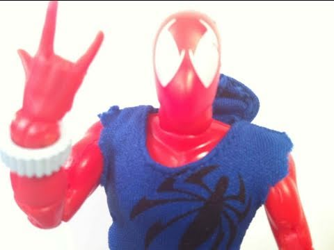 Spider-man Classics Scarlet Spider KB Toys Exclusive Action Figure Toy Review