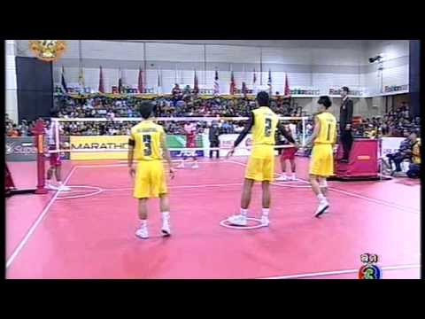 Sepak takraw  ISTAF Super Series 2011 Men's team Final - Thailand vs Indonesia (Part 2)