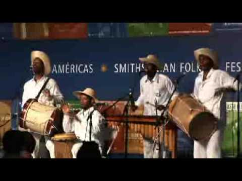 Smithsonian Folkways Artist Cantadoras del Pacífico perform at 2009 Smithsonian Folklife Festival