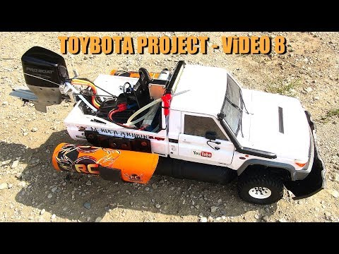 RC ADVENTURES - TOYBOTA PROJECT - PT 8 - BBC TOP GEAR TRiBUTE BUiLD - TOYOTA LC70 TRUCK-BOAT - UCxcjVHL-2o3D6Q9esu05a1Q
