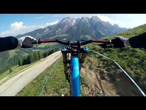 GoPro: UCI Leogang Course Preview with Claudio Caluori