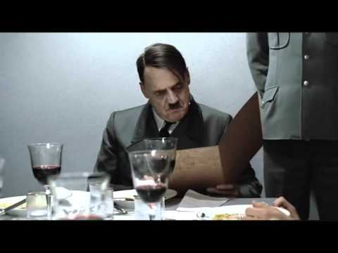 Hitler is informed Himmler did not unclog his toilet