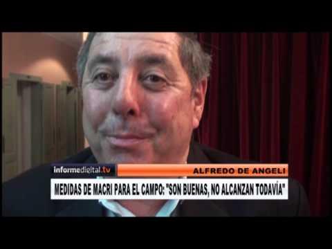 <b>Cambiemos.</b> De Angeli afirmó que Frigerio puede ser gobernador