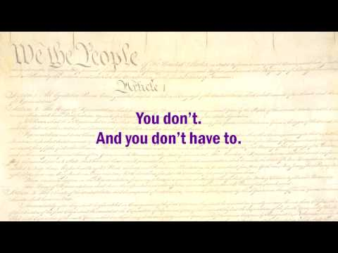 Constitution Lectures 1: The Non-Consent of the Governed (HD version)