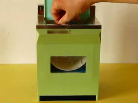 Museo Virtuale delle Lavatrici Giocattolo 43. Video PLV Ignis Italocremona.