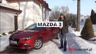 Mazda 3 2.0 122 KM, 5d, 2013 - wideotest AutoCentrum.pl