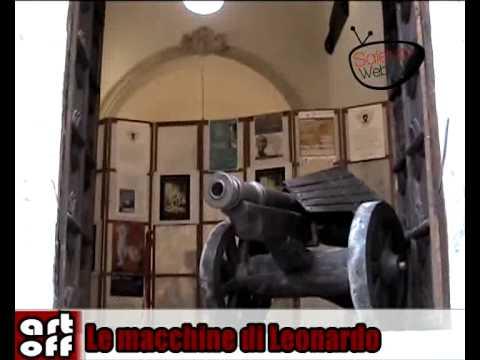 ArtOff decima puntata- Le Macchine di Leonardo