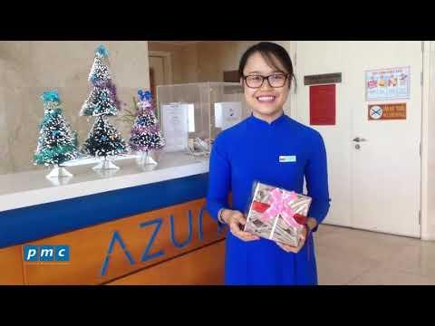 Azura – Trang trí tòa nhà chào đón Giáng sinh