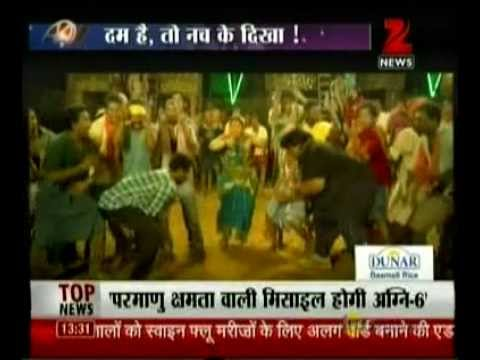 "Zee News : India's very own Michael Jackson ""Prabhudeva"" heats the dance floor with ABCD"