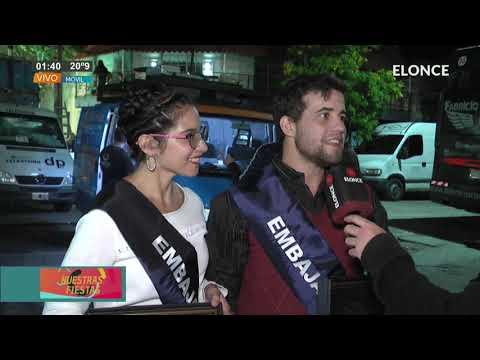 Federica y Nahuel, los Embajadores Culturales de la Fiesta del Ternero