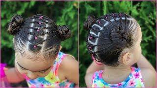 Youtube Peinado Para Ninas La Maya Con Coleta Peinados Faciles Y
