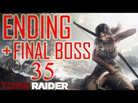 "Tomb Raider - ENDING HD + Final Boss ""Tomb Raider ending"" 2013 ending PS3 XBOX walkthrough part 35"