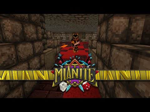Minecraft: Mianite - Deadly Maze Of Dianite & Freeing Ianite!! [79]