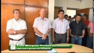 Ing. Luis Murguia juramenta como Nuevo Gerente General del PETACC