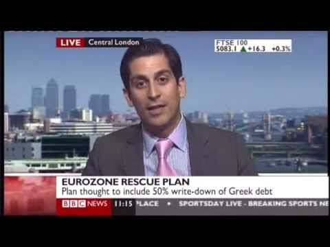Trader on the BBC says Eurozone Market will crash