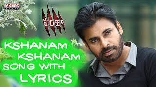 Panjaa Full Songs With Lyrics - Kshanam Kshanam