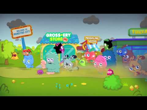 Moshi Monsters Super Moshis - Monstro City Needs YOU!