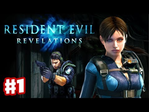 Resident Evil Revelations - Gameplay Walkthrough Part 1 - Into the Depths (3DS, PS3, XBox 360)