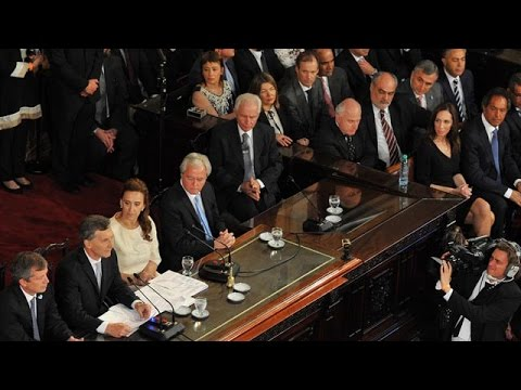 <b>Casa Rosada.</b> Bordet asistió a la jura de Macri